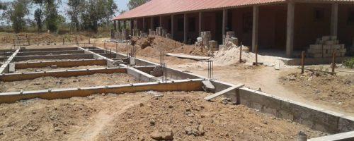 Dormitory foundations Mar 2019