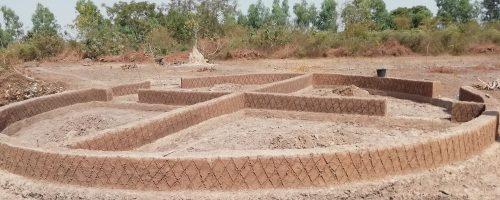 Farm house foundations